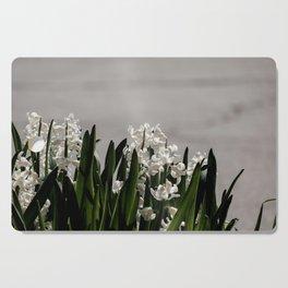 Hyacinth background Cutting Board