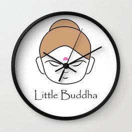 Cute little Buddha Wall Clock