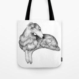 Borzoi Tote Bag