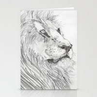 leon Stationery Cards featuring Leon by Amy Lawlor Creations