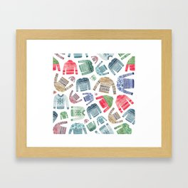 Christmas Jumpers! Framed Art Print