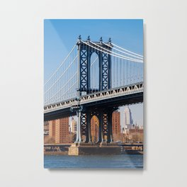 Manhattan Bridge 2015 Metal Print