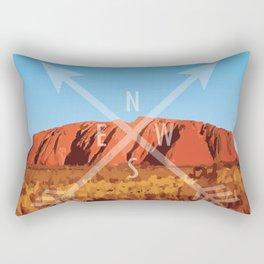 Uluru Rectangular Pillow