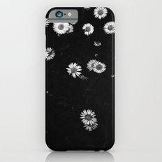 Field of daisies: B&W  iPhone 6s Slim Case