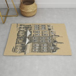 A Slice of Townhouses in Maastricht, The Netherlands Rug