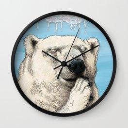 Polar prayer Wall Clock