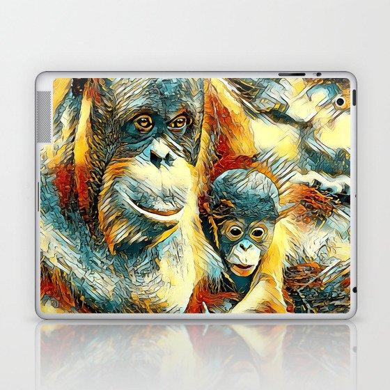 AnimalArt_OrangUtan_20170910_by_JAMColorsSpecial Laptop & iPad Skin