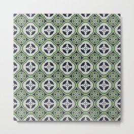 Moroccan Tea Seamless Pattern Metal Print