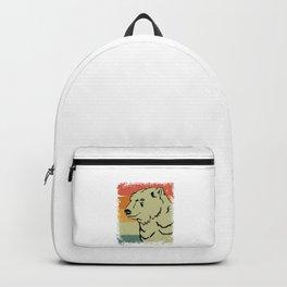 Vintage Polar Bear Animal Gift Idea Backpack