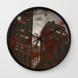 New York Manhattan Wall Clock