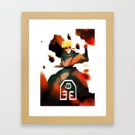 Avatar Kyoshi II Framed Art Print