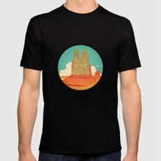 devotion Mens Fitted Tee Black LARGE