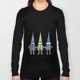 Three funny gnomes Long Sleeve T-shirt