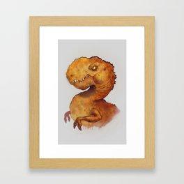 Jarvis the Tyrannosaurus Framed Art Print