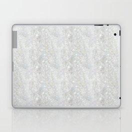 White Apophyllite Close-Up Crystal Laptop & iPad Skin
