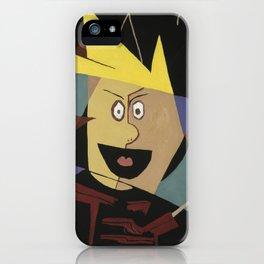 Cubist Calvin iPhone Case