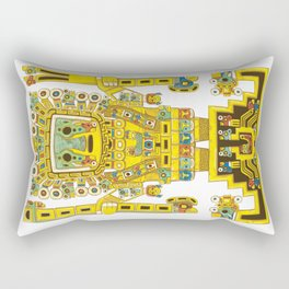 Viracocha Color Rectangular Pillow