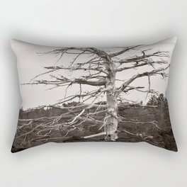 Dead Tree of the Volcano Etna Sicily Rectangular Pillow
