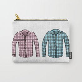 Flannel shirts Carry-All Pouch