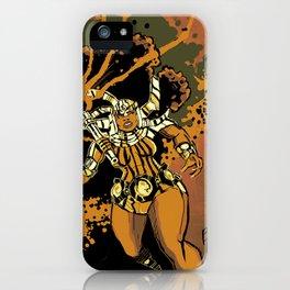 BIG SISTA BROWN iPhone Case