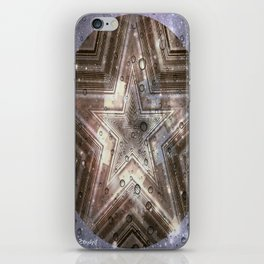 Hollywood Star with water drops iPhone Skin