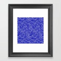 Midnight Floral Framed Art Print