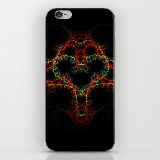 Fractal Heart iPhone & iPod Skin