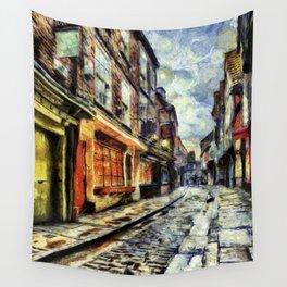 The Shambles York Van Gogh Wall Tapestry