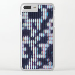 Painted Attenuation 1.2.3 Clear iPhone Case