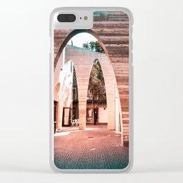 Artsy Hallway Clear iPhone Case