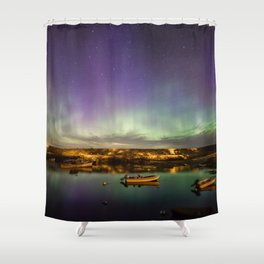Aurora and the ISS Shower Curtain