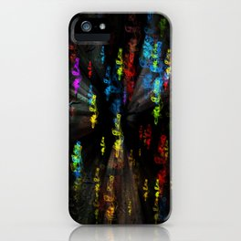 Smoky colours iPhone Case