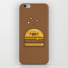Golden Cheeseburger iPhone Skin