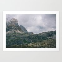 The view from afar Art Print