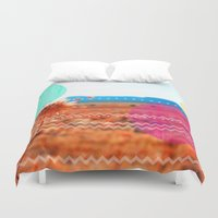 wind Duvet Covers featuring Wind by Kakel-photography
