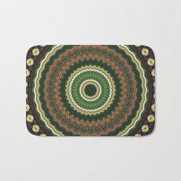 A New Serial Mosaic Mandala 5 Bath Mat