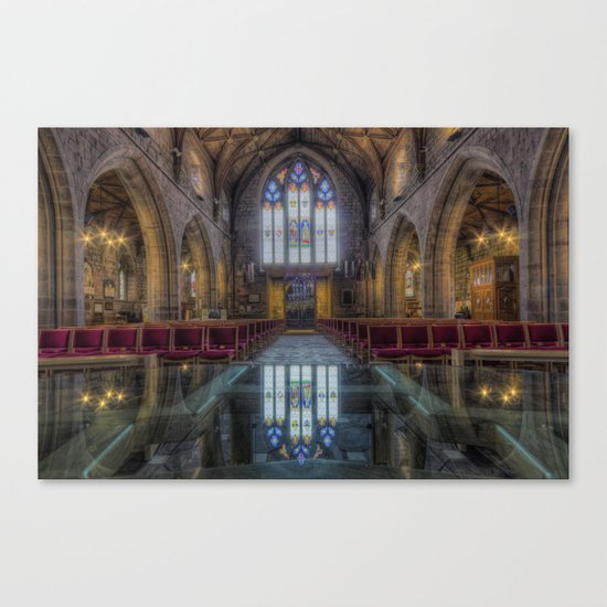 Upon Reflection Canvas Print
