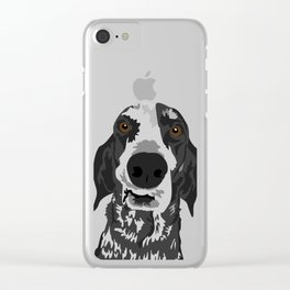 Reilly Head Clear iPhone Case