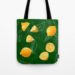 A Handful of Lemons Tote Bag