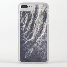 Horse hair Clear iPhone Case