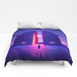Inner Shadow Comforters