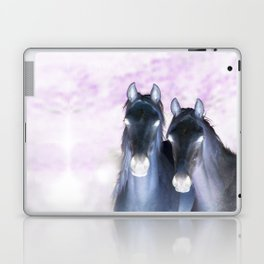 infra red horses Laptop & iPad Skin