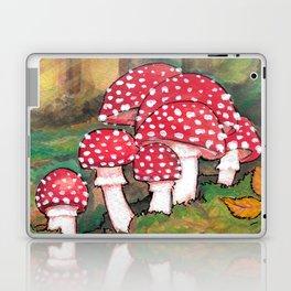 Mushrooms in the Woods Laptop & iPad Skin