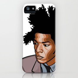 Jean Michel Basquiat Samo Design Art iPhone Case