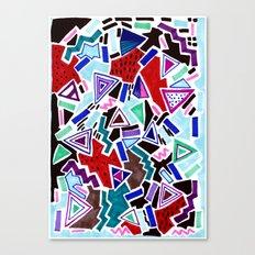 PLAY MOTIF Canvas Print
