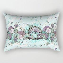 Audrey Mermaid Pattern 03 Rectangular Pillow