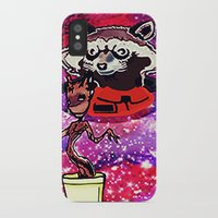 superheros iPhone & iPod Cases featuring Buddies by grapeloverarts