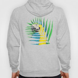 Parrot Palm Leaf Hoody