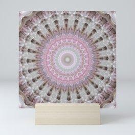 Mandala secret wishes Mini Art Print