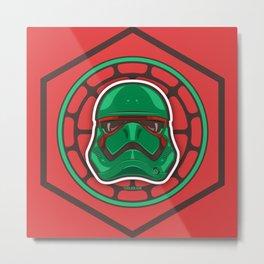 First Order TMNT Stormtrooper - Raphael Metal Print